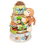 Little Monkey Diaper cake