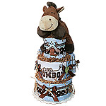 Little Cowboy Diaper Cake