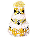 Busy Bee Decoration Diaper Cake