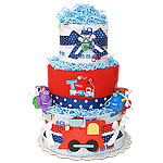 Choo Choo Train Diaper Cake