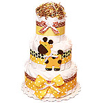 Jungle Giraffe Decoration Diaper Cake