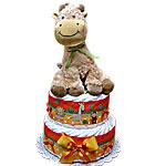 Baby Giraffe Diaper Cake