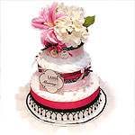 Chic Mommy Diaper Cake