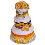 Jungle Lion Decoration Diaper Cake