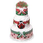 LadyBug Decoration Diaper Cake