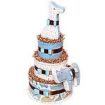 DwellStudio Giraffe Diaper Cake