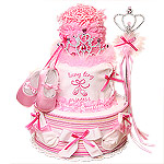 Teeny Tiny PRINCESS Diaper Cake