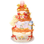 Little Cutie Neutral Duck Diaper Cake