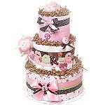 Little Lady LadyBug Diaper Cake