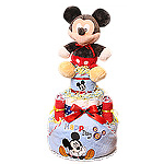Mickey Mouse Diaper Cake for a Boy!