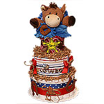 Mommy's Cowboy Diaper Cake