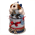My First Puppy Diaper Cake