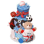 Play Ball! Sport Diaper Cake