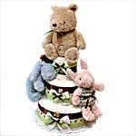 Classic Pooh and Best Friends Diaper Cake