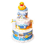 Rubber Duck Diaper Cake