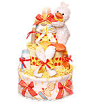 Too Cute Neutral Duck Diaper Cake