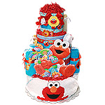 Ready for a Bath Elmo Diaper Cake