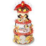 Thanksgiving Turkey Diaper Cake
