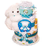 Fisher Price Polar Bear Diaper Cake