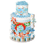 Little Dinosaur Diaper Cake