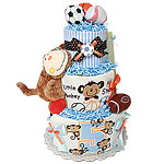 All Star Champ Sport Diaper Cake