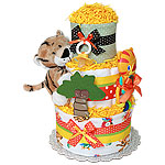 Fun Baby Tiger Diaper Cake