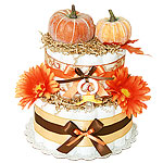 Magic Pumpkin Diaper Cake