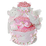 Little Kitten Diaper Cake