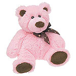 Sweet Chocolate Bear Small - Pink