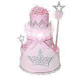 Little Princess Diaper Cake