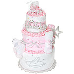 Royal Carriage Princess Diaper Cake