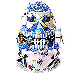 Racing Cars Diaper Cake