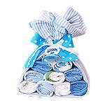 Blue Stork Bundle with Bodysuits