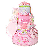 Thank Heaven Little Princess Diaper Cake