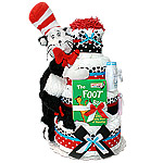 The Cat in the Hat Diaper Cake