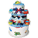 Transportation Diaper Cake