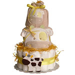 Funny Cow Diaper Cake