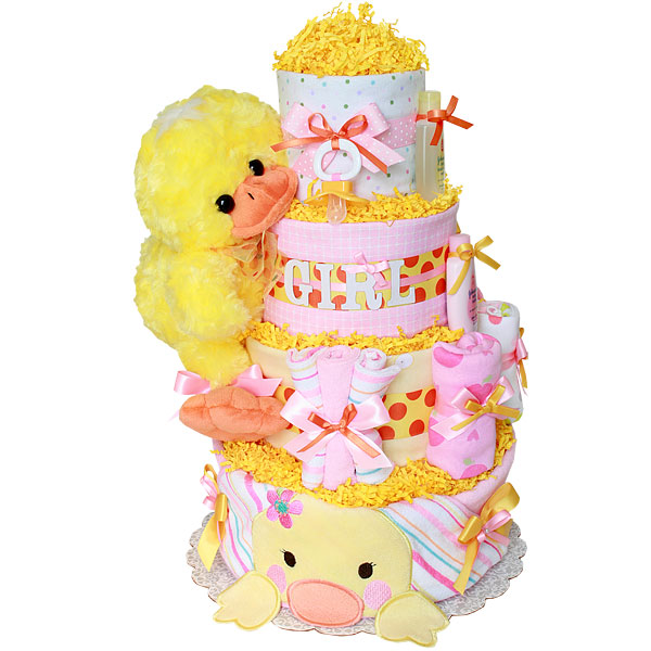 Click On Diaper Cake To Zoom In