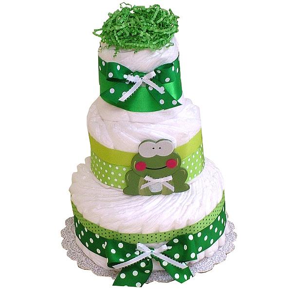Diaper Cake Decor : Frog Decoration Diaper Cake - USD62.00 : Diaper Cakes Mall ...