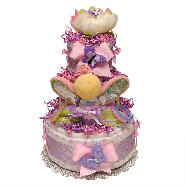 Purple Butterfly Baby Shower Cakes. Decorations ...