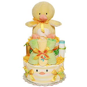 Little Duck Diaper Cake