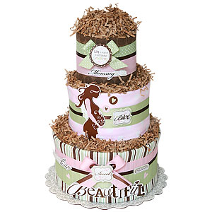 Lady in Waiting Pregnancy Diaper Cake