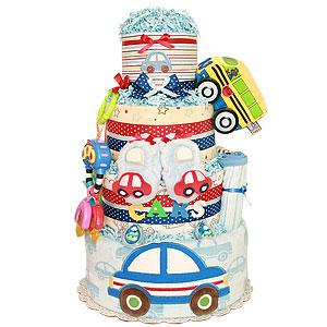 Cars Diaper Cake