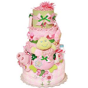 Cutesy Garden Butterfly Diaper Cake
