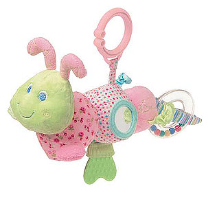 Cutsie Caterpillar Activity Toy