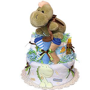 Little Soapasaurus Diaper Cake