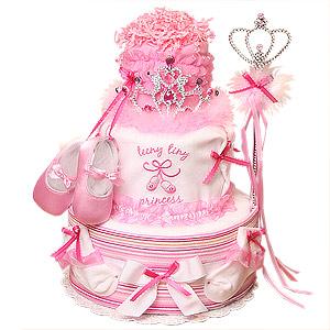 Teeny Tiny PRINCESS Diaper Cake