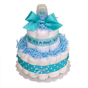 It's a Boy Diaper Cake