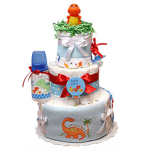 Little Dino II Diaper Cake