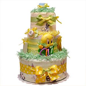 Looney Tunes Diaper Cake
